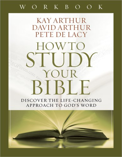 How To Study Your Bible Workbk
