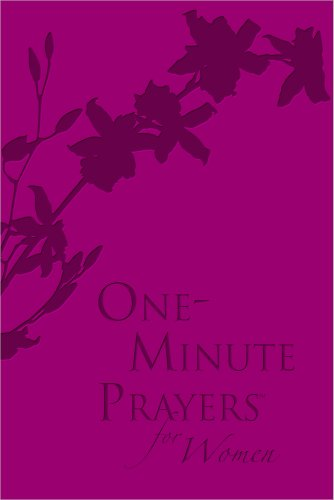 9780736954761: One-Minute Prayers® for Women Milano Softone™ Raspberry