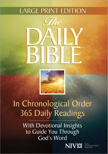 9780736958523: The Daily Bible® Large Print Edition