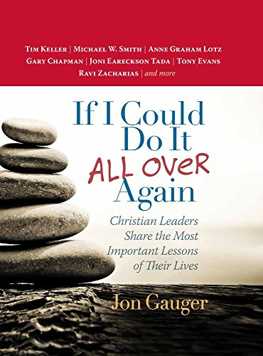 If I Could Do It All over: Jon Gauger