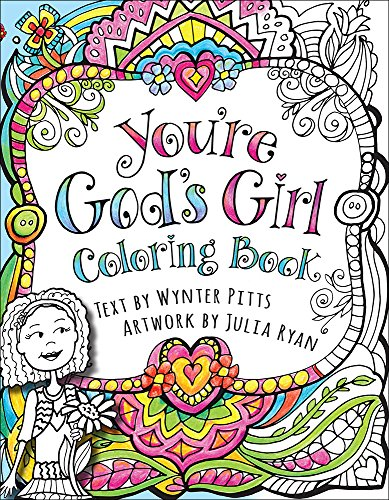 9780736969635: You're God's Girl! Coloring Book