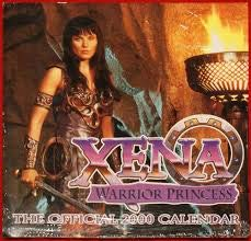 9780737100747: Xena Warrior Princess 2000 Calendar