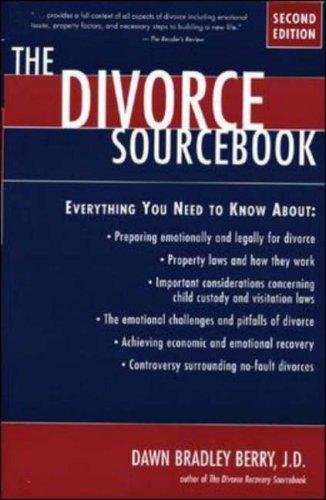 9780737300239: The Divorce Sourcebook