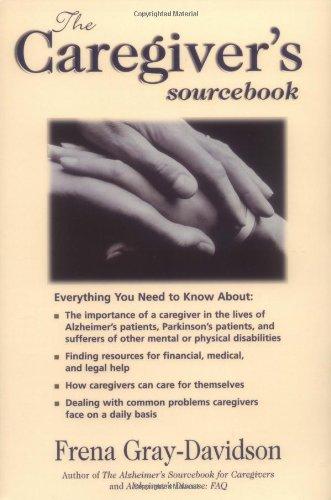 9780737301366: The Caregiver's Sourcebook