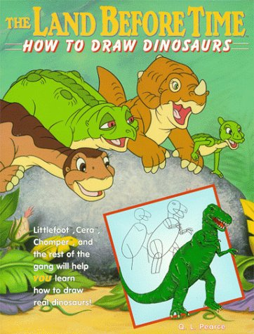 9780737302370: The Land Before Time: How to Draw Dinosaurs