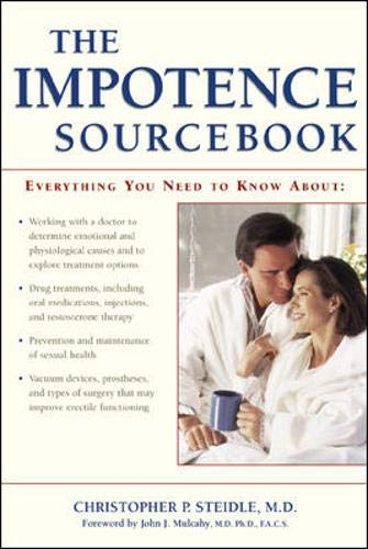The Impotence Sourcebook (Sourcebooks): Steidle, Christopher