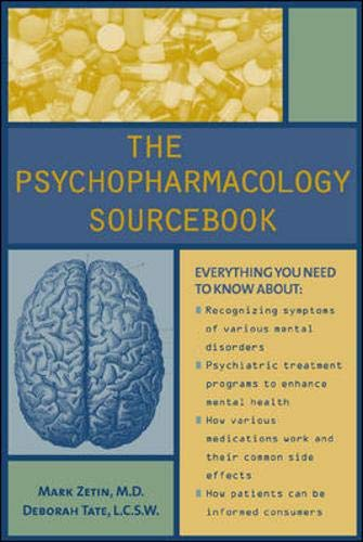 9780737302660: The Psychopharmacology Sourcebook
