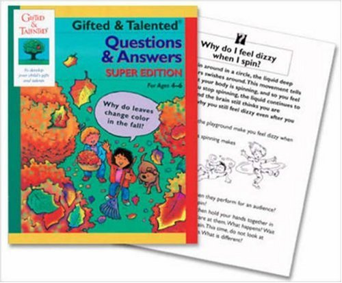 Gifted & Talented Questions & Answers: Amerikaner, Susan, Kennedy, Bailey, Sweeney, Kathie