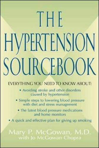 9780737305395: The Hypertension Sourcebook