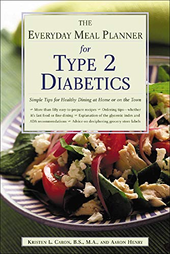 9780737305548: The Everyday Meal Planner for Type 2 Diabetes: Simple Tips for Healthy Dining at Home or On the Town