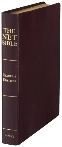 9780737501063: NET Bible Reader's Edition (Premium Bonded Black Leather)