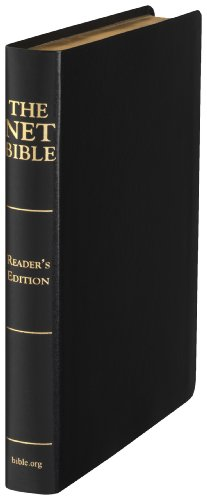 9780737501087: NET Bible Reader's Edition (Premium Bonded Leather Black Saddle)