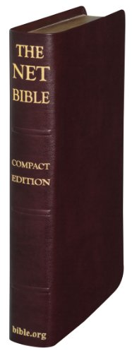 9780737501407: NET Bible New English Translation Premium Bonded Burgundy Saddle Leather Bounded with 7,722 Condensed Notes-Glossary of Terms: Concordance-Premium Maps of the Holy Lands-Youth-Holy Bible