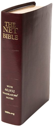 9780737501926: NET Bible Full Notes Edition- Burgundy