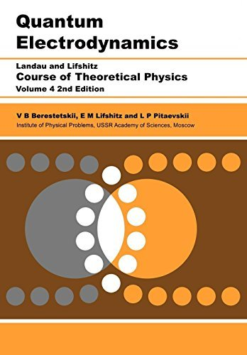 9780737633719: Quantum Electrodynamics, Second Edition: Volume 4 by Berestetskii, V B Published by Butterworth-Heinemann 2nd (second) edition (1982) Paperback