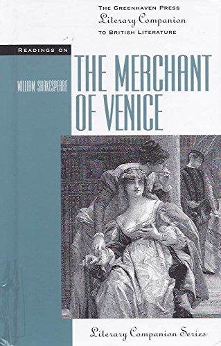 9780737701791: Readings on the Merchant of Venice (The Greenhaven Press Literary Companion to British Literature)