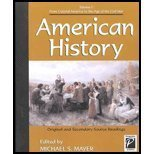 9780737707076: Perspectives on History - American History Volume I (paperback edition)