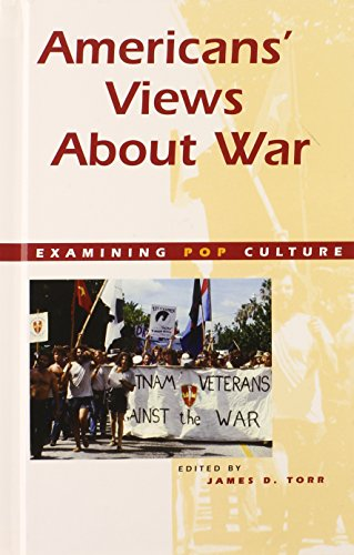 9780737707540: Americas Views About War (Examining Pop Culture)