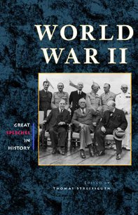 9780737708783: World War II (Greenhaven Press's Great Speeches in History)