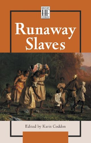 9780737713428: Runaway Slaves (History Firsthand)