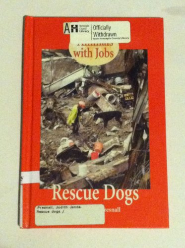 9780737713619: Animals with Jobs - Rescue Dogs