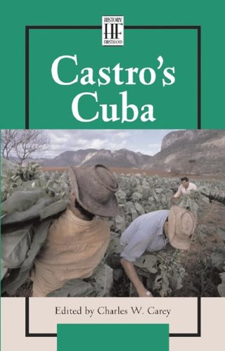 Castro's Cuba (History Firsthand): Hennessey, Kate