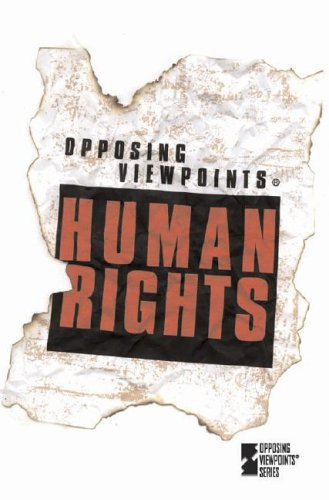 9780737716894: Human Rights (Opposing Viewpoints Series)