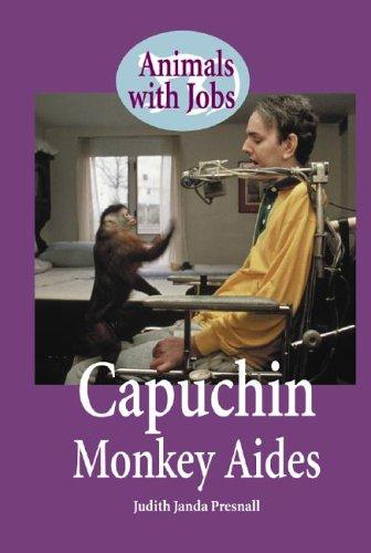 9780737717884: Capuchin Monkey Helpers (Animals With Jobs)