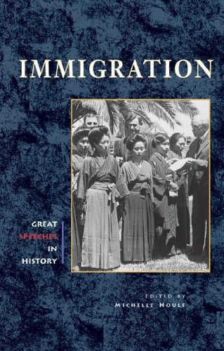 9780737718744: Immigration (Great Speeches in History)
