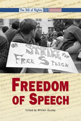9780737719291: Freedom of Speech (Bill of Rights)