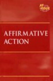 9780737720013: At Issue Series - Affirmative Action (hardcover edition)