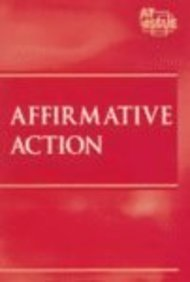 9780737720020: At Issue Series - Affirmative Action