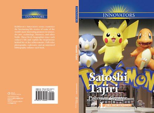 9780737742695: Satoshi Tajiri: Pokemon Creator (Innovators (Kidhaven))