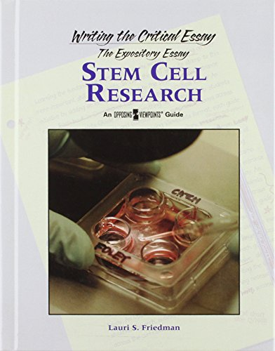 9780737750256: Stem Cell Research (Writing the Critical Essay)
