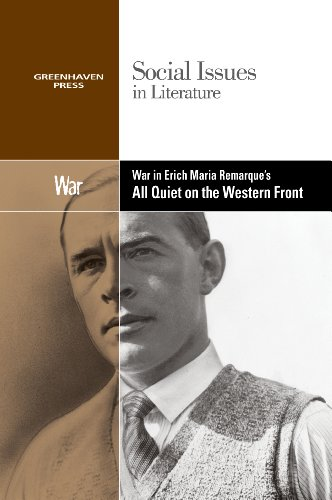 9780737763928: War in Erich Maria Remarque's All Quiet on the Western Front (Social Issues in Literature)