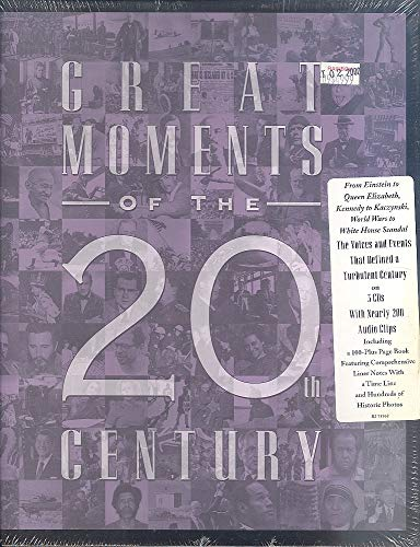 9780737900712: Great Moments of the 20th Century [Gebundene Ausgabe] by Rhino Entertainment Co.