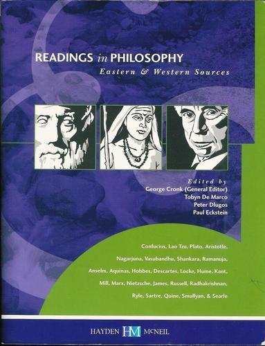 9780738004907: Readings in Philosophy: Eastern & Western Sources