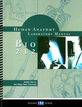 9780738006758: Biology 212--Human Anatomy Lab Manual (San Diego State University)