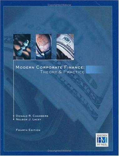 9780738007700: Modern Corporate Finance: Theory & Practice