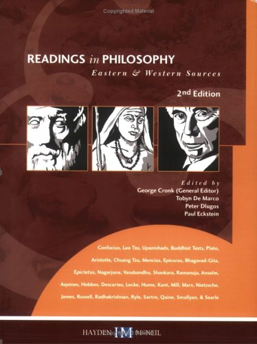 9780738007816: Readings in Philosophy: Eastern & Western Sources