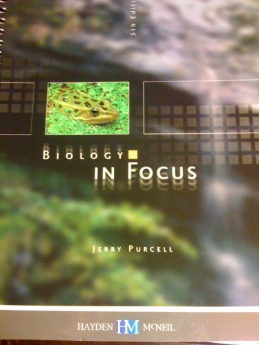 Biology in Focus/Lab Manual 5th Edition: JERRY PURCELL