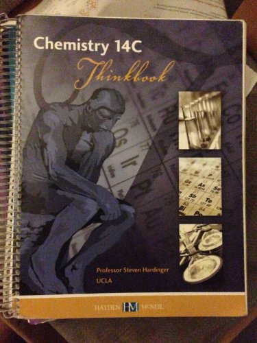 9780738021775: Chemistry 14C Thinkbook: Organic Molecular Structures and Interactions