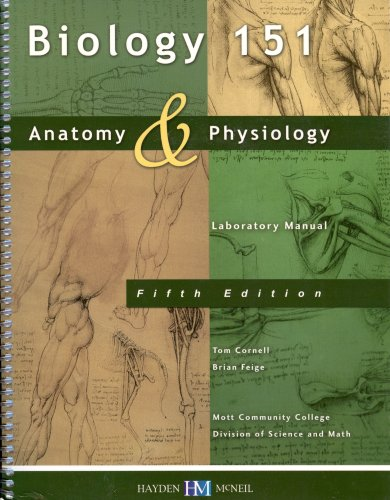 9780738029894: Anatomy & Physiology Laboratory Manual (Bio 151 MCC ...