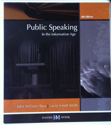 9780738031781: Public Speaking in the Information Age University of Tennessee-knoxville