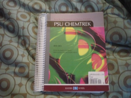 9780738039695: PSU Chemtrek (Small-Scale experiments for General Chemistry)
