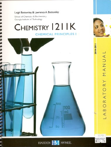 9780738041254: Chemistry 1211K Chemical Principles I