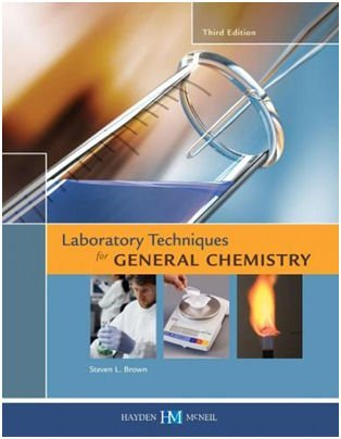 9780738041605: laboratory techniques for general chemistry
