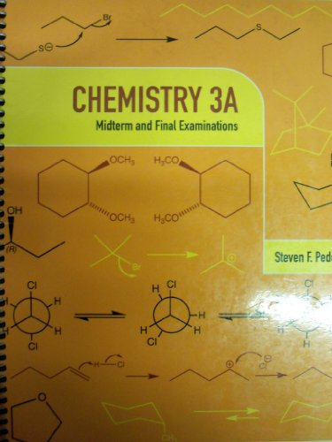 9780738041797: Chemistry 3A: Midterm and Final Examinations