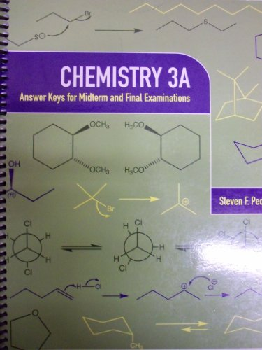 9780738041803: Chemistry 3A: Answer Keys for Midterm and Final Exams