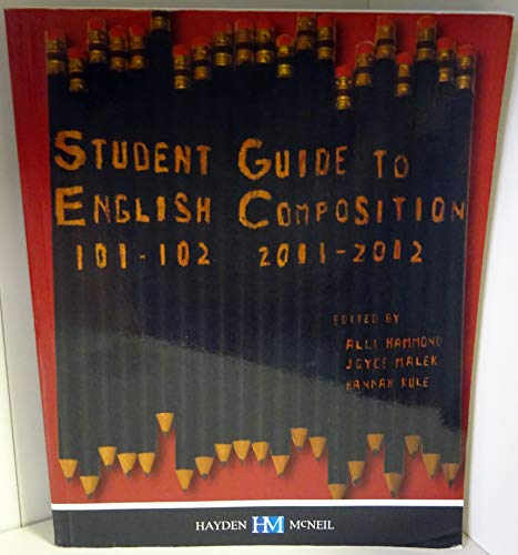 9780738044149: Student Guide to English Composition; 101-102 (University of Cincinnati)